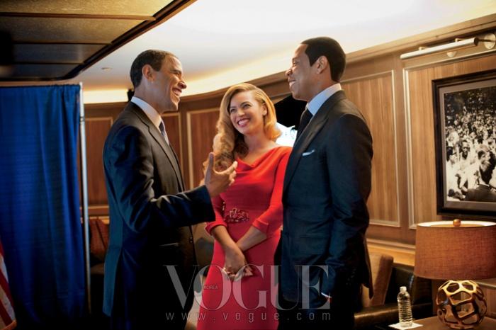 politics as usual지난 9월 뉴욕. 오바마 대통령, 비욘세와 제이 지 부부는 무슨 얘길 하고 있었을까?