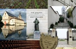 프랑스 샹파뉴에 위치한 샴페인의 성지, 오빌레르 수도원. 에르 페리뇽 신부에 의해 탄생한 돔 페리뇽은 매년 빈티지를 산하지 않는다. 포도 수확이 그저 그런 해에는 생산 자체를 중단한다. 회 동굴로 만들어진 지하 저장 창고에 보관된 돔 페리뇽은 소 6년의 숙성 기간이 지나서야 비로소 판매를 시작한다.