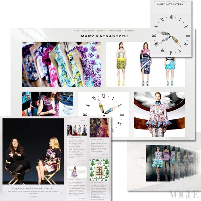 얼마 전 새롭게 오픈한 마리 카트란주의 공식 웹사이트. 감각적인 디자인을 배경으로 마리 카트란주의 모든 것을 감상할 수 있다. www.marykatrantzou.com