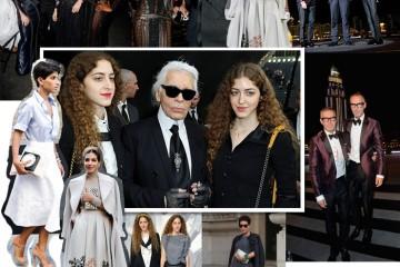 변화한 중동 패션의 새로운 모습들. 왼쪽은 사우디아라비아의 디나 압둘아지즈. 칼 라거펠트와 함께 포즈를 취한 쌍둥이가 바로 아부 하드라 자매. 프랑카 소짜니, 나오미 캠벨, 리카르도 티시 등은 두바이에서 열린  행사장을 찾기도 했다.
