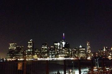 Feb 8 PM 5, Alexander Wang도시의 밤은 아름답다! 브루클린에서 바라본 맨해튼. 알렉산더 왕 쇼가 선사한 보너스!