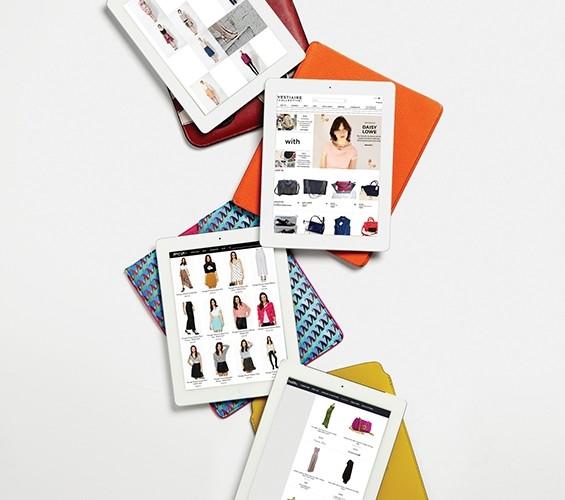 편리하게 빈티지 쇼핑을 도와주는 빈티지 쇼핑 사이트들. 아이패드 케이스는 위부터 프라다, 에르메스, 에트로, 루이 비통.