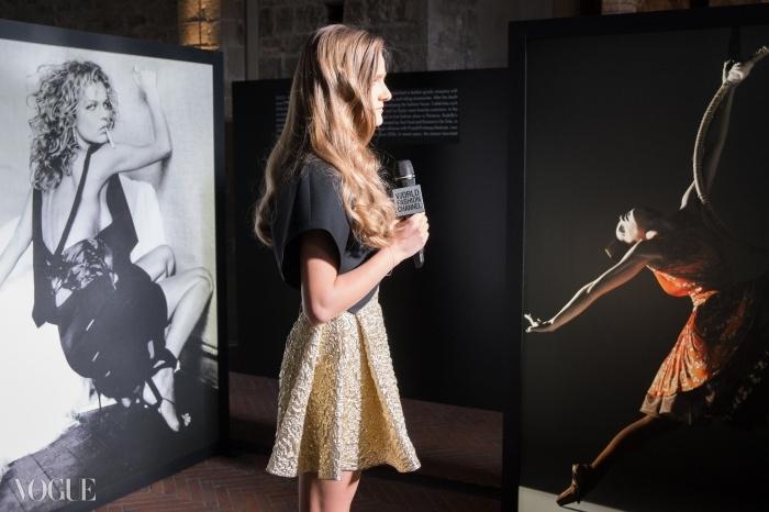 파올로 로베르시와 마리오 소렌티의 사진들이 걸린 피렌체&패션 전시회의 구찌 공간 ⓒ Proj3ct Studio