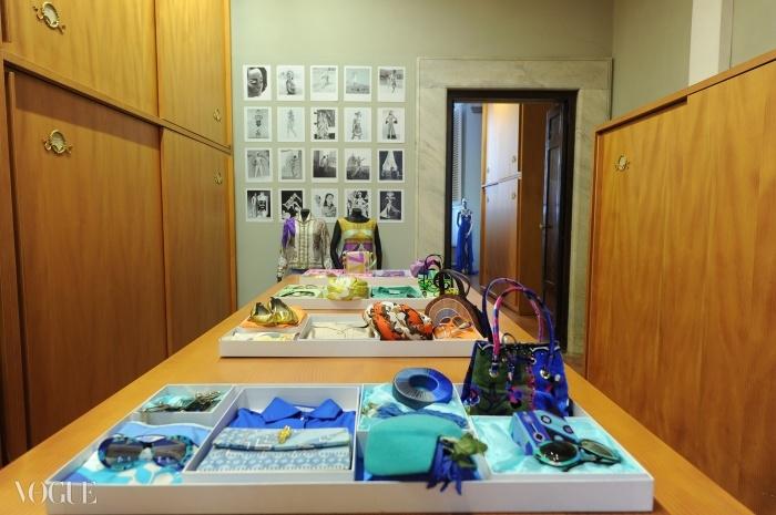 푸치 메종은 푸치 궁의 아카이브를 개방했다.