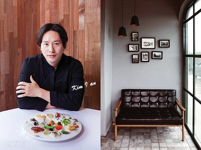 산방산이 병풍처럼 눈앞에 펼쳐지는 이안스 시즌2. 거기서 김이안 셰프는 논현동에서보다 더 행복해 보였다. 요리사에게는 좋은 식재료가 행복의 재료다.
