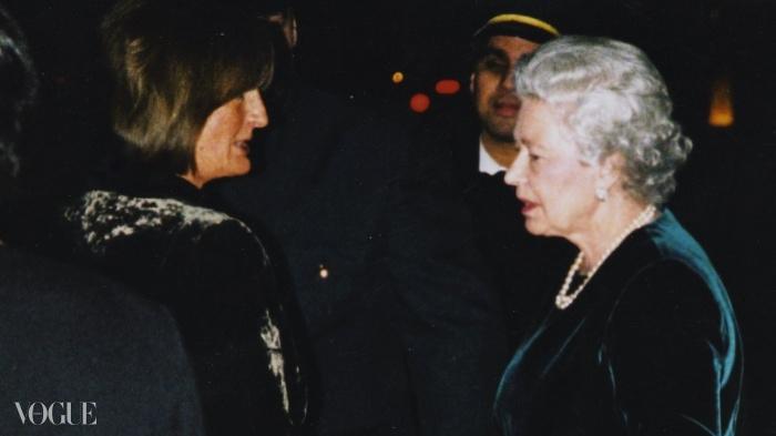 레이디 애나벨과 여왕님.