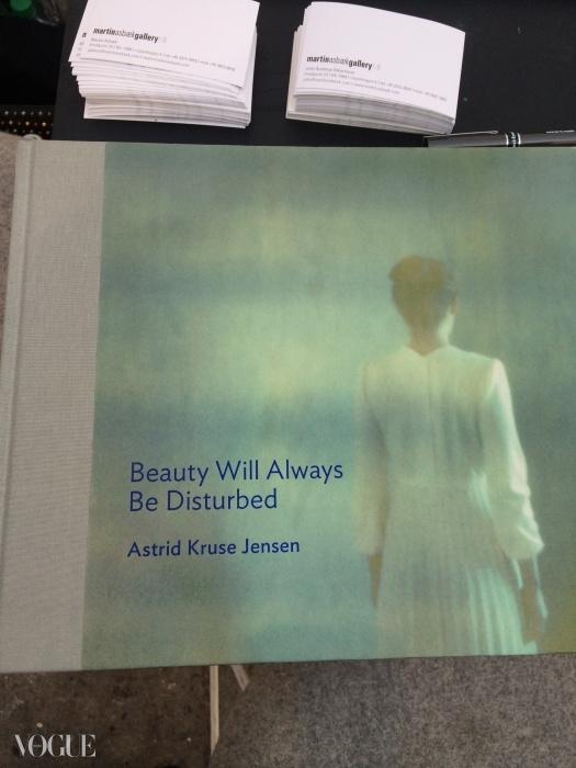 사진작가 아스트리드 크루세 옌센의 새 책, Beauty Will Always Be Disturbed. 마틴 아즈백 갤러리