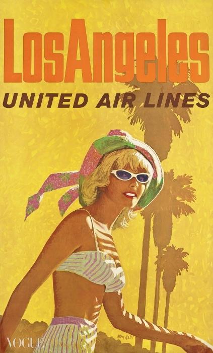 스탠 (스탠리 월터) 갈리(Stan (Stanley Walter) Galli) (1912-2009). 로스앤젤레스, 유나이티드항공(United Air Lines). 입찰 시작 가격: £1,500. ⓒ Christie's Images Ltd. 2014