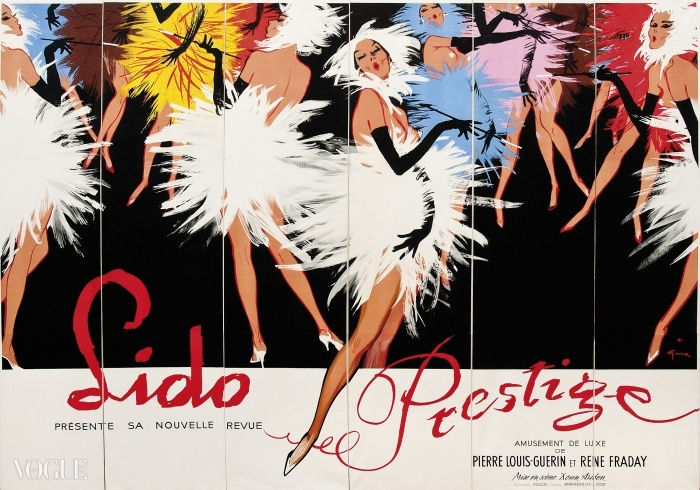 Lot 76. 르네 그루오(René Gruau) (Renato de Zavagli, 1909-2004). 리도 프레스티지(Lido Prestige). 입찰 시작 가격: £5,500 ⓒ Christie's Images Ltd. 2014