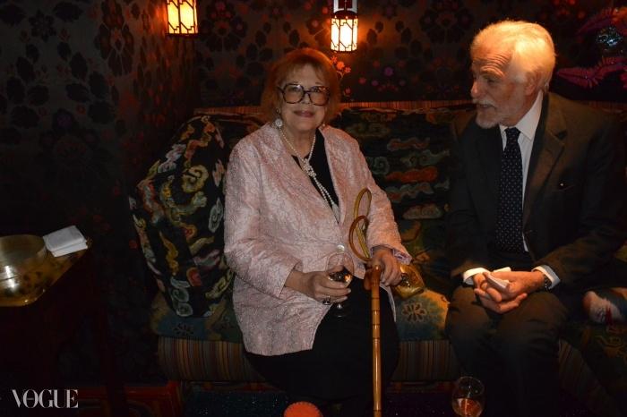 나타샤의 어머니 레이디 안토니아 프레이저(Lady Antonia Fraser)와 루루의 남편 타테 클로소프스키 드 로라(Thadée Klossowski de Rola).