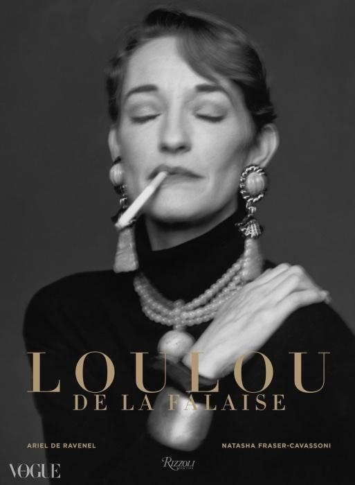 <루루 드 라 팔래즈, 더 글래머러스 로맨틱(Loulou de la Falaise, the Glamorous Romantic)> 책 표지 ⓒ 리졸리(RIZZOLI)