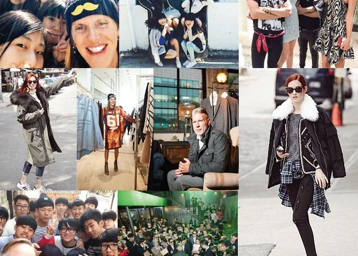 뉴욕과 파리의 스트리트패션 사진에서 서울까지찾아온 새로운 패션 스타들.분더샵을 찾은 안나 델로루쏘, 일꼬르소와 함께한닉 우스터, 서울 패션 위크에참석한 브루스 패스크,보브의 스타일링 프로젝트를맡은 테일러 토마시 힐까지.
