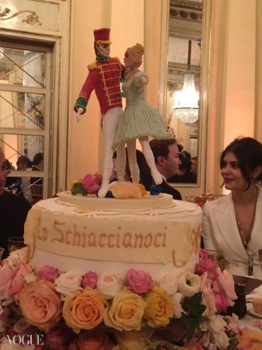 각 케이크들은 서로 다른 발레를 주제로 꾸며졌다.