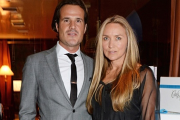 콜레트와 그녀의 남편 브래들리 콕스