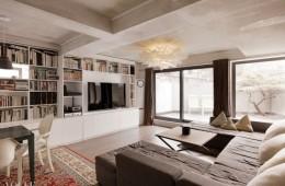 니키 리는 본래 방 세 개 구조의 공간을 방 한 개와 큰 거실로 개조했다. 실제 평수에 비해 개방감이 느껴지는 이유다.