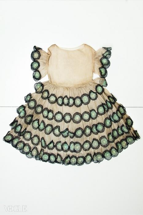 어린이용 드레스('Les petites filles modes'), 1925년