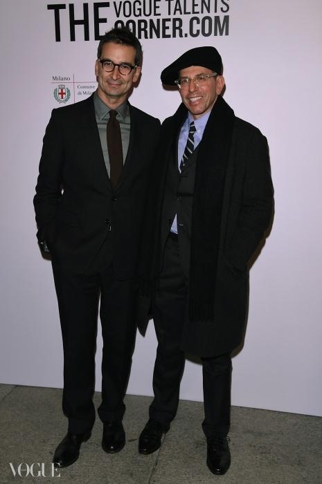 육스(Yoox)의 페데리코 마르체티와 콘데 나스트 인터내셔널(Condé Nast International)의 회장이자 CEO인 조나단 뉴하우스(Jonathan Newhouse)ⓒ GETTY