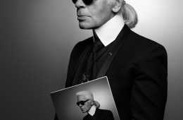 Karl Lagerfeld_Self-portrait (2013) + 2016 Karl Lagerfeld