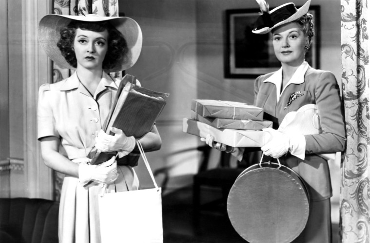 IN THIS OUR LIFE, from left, Bette Davis, Lee Patrick, 1942