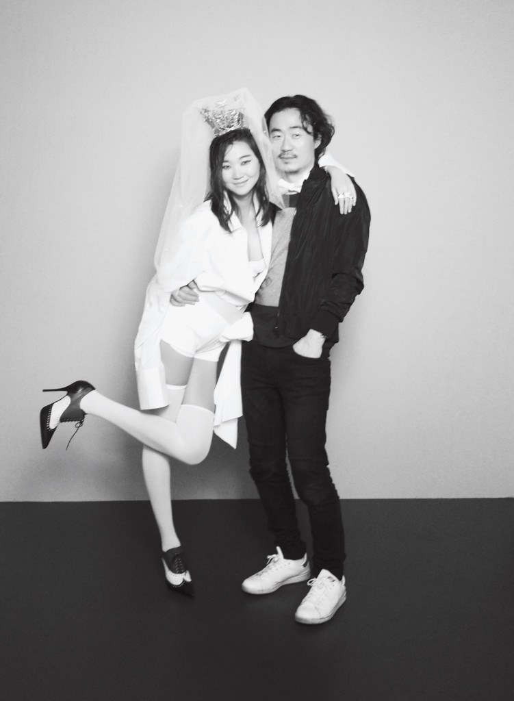 with Park Ji Hyeok
