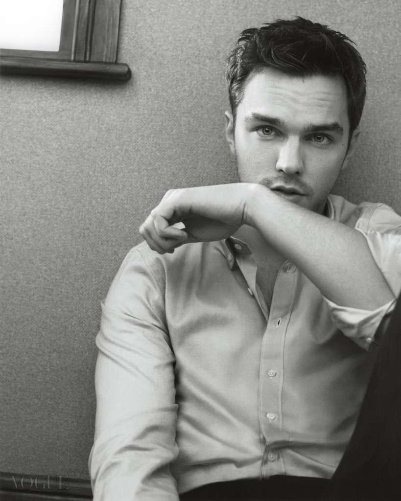 Feature, interview with Nicholas Hoult, leading man, room, portrait, sitting, window