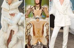 프레타포르테, 그러니까 기성복 패션쇼에선 첫 룩이 상징이라면, 맞춤복인 오뜨꾸뛰르 쇼는 마지막 옷이 제일 볼거리! 디자이너 창의력이 절정에 달한 순간들.