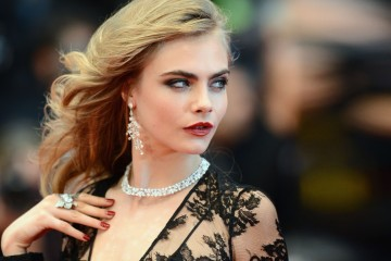 CANNES, FRANCE - MAY 15:  Model Cara Delevingne attends the Opening Ceremony and 'The Great Gatsby' Premiere during the 66th Annual Cannes Film Festival at the Theatre Lumiere on May 15, 2013 in Cannes, France.  (Photo by Ian Gavan/Getty Images)