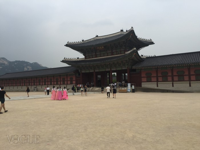서울의 경복궁