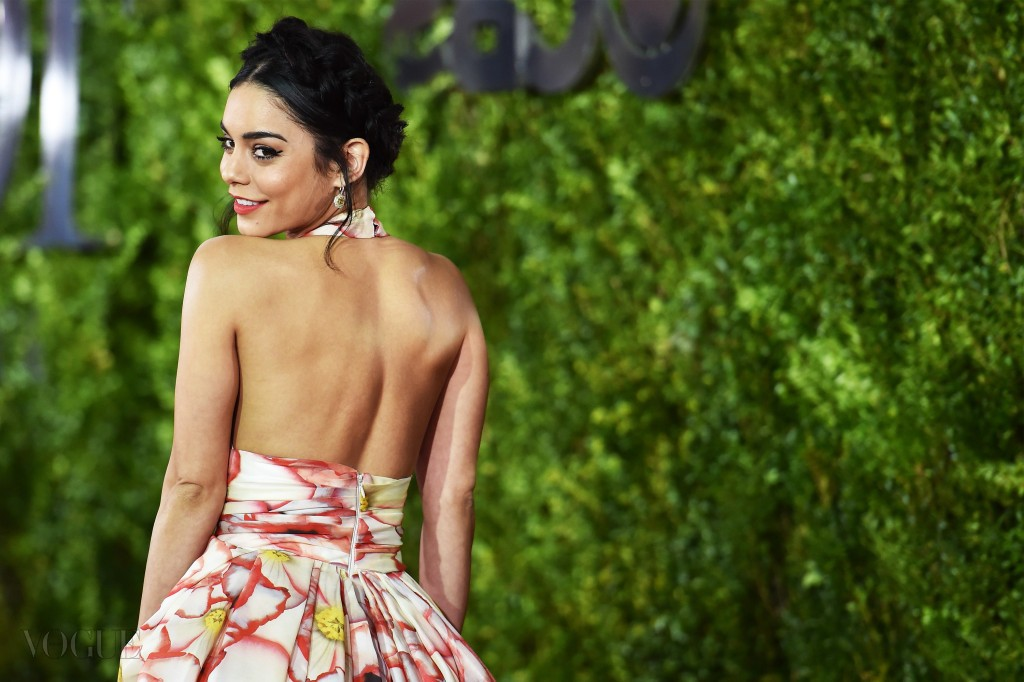 NEW YORK, NY - JUNE 07:  (EDITORS NOTE: Image has been processed using digital filters.)Vanessa Hudgens attends the 2015 Tony Awards at Radio City Music Hall on June 7, 2015 in New York City.  (Photo by Mike Coppola/Getty Images for Tony Awards Productions)