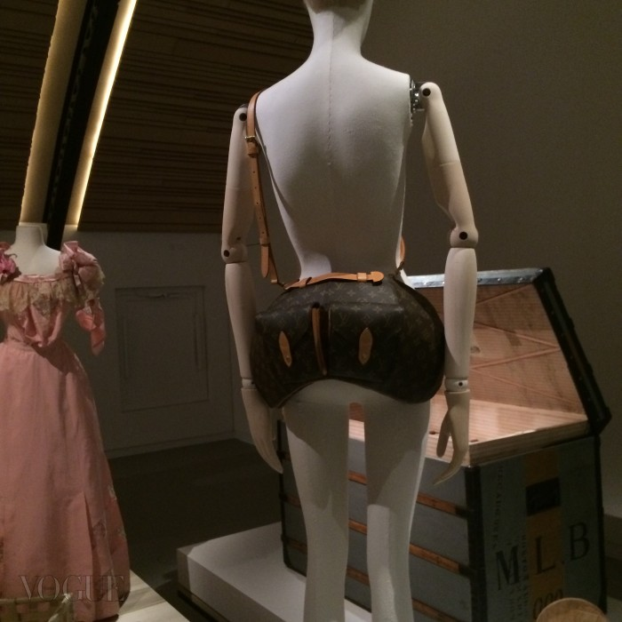 Louis Vuitton Bum Bag by Vivienne Westwood_CREDIT Suzy Menkes Instagram