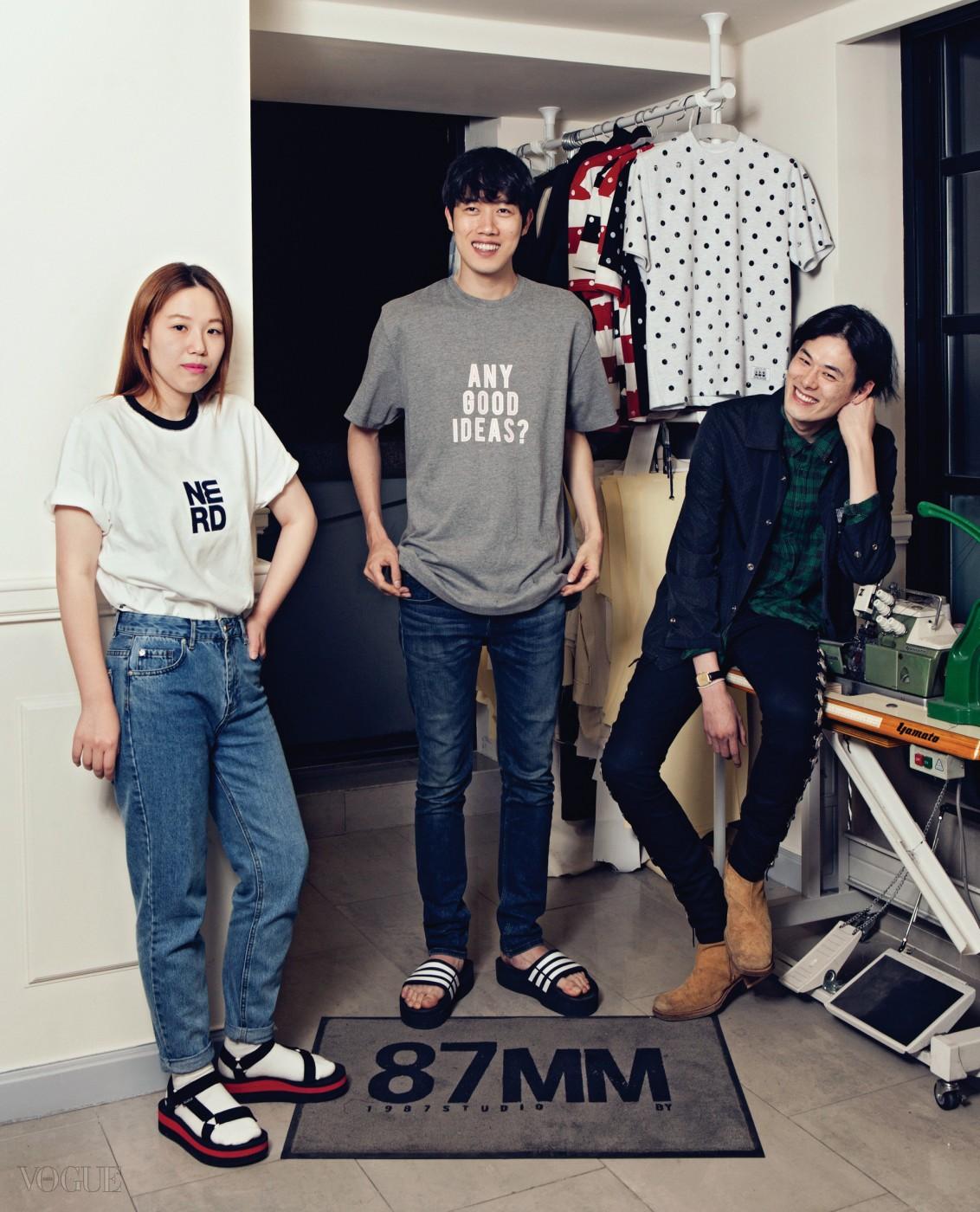 패션 에디터 원영은, 87mm 박지운  김원중.