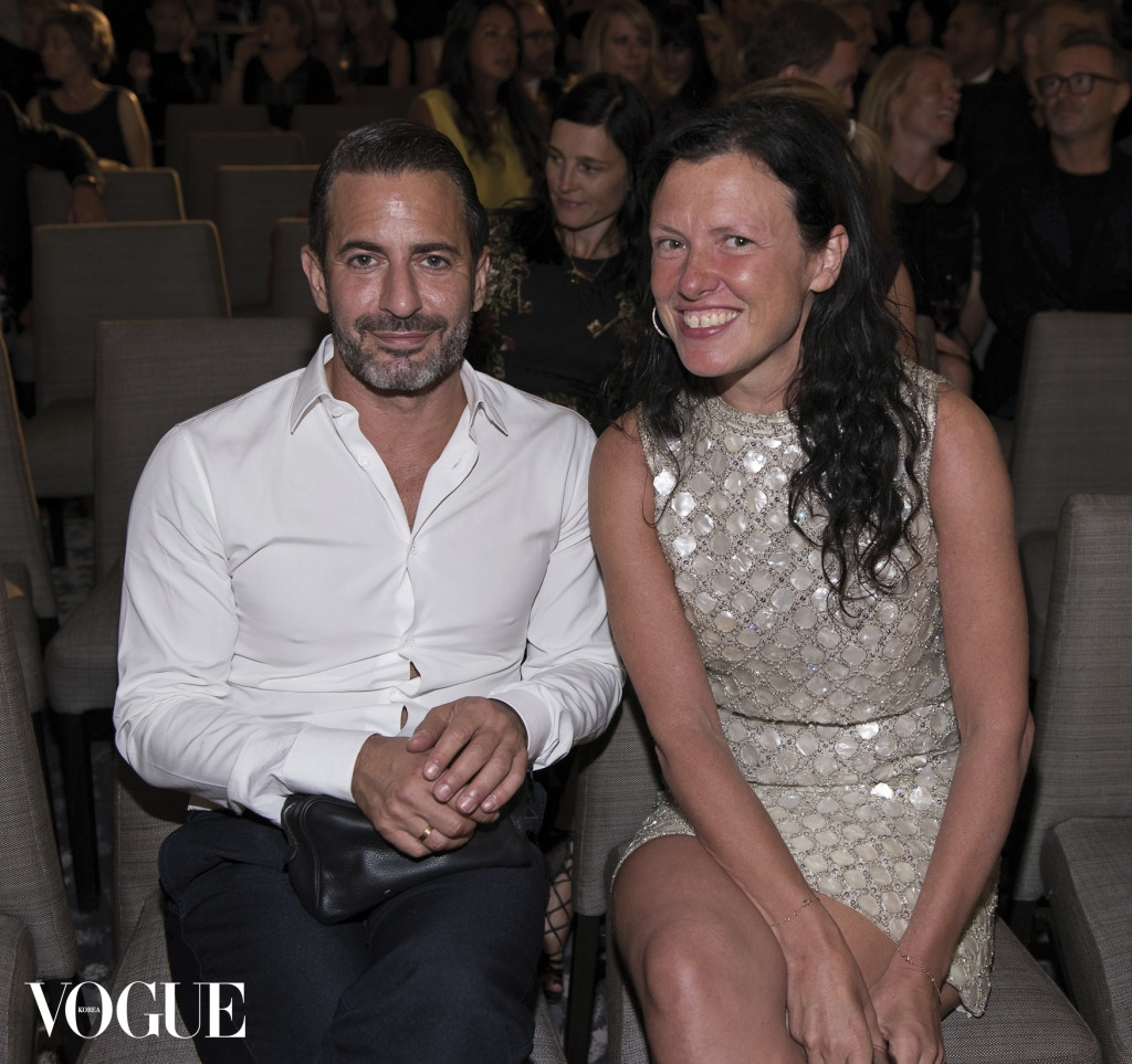NEW YORK, NY - SEPTEMBER 05:  Marc Jacobs and Katie Grand attends The Daily Front Row Second Annual Fashion Media Awards at Park Hyatt New York on September 5, 2014 in New York City.  (Photo by Dave Kotinsky/Getty Images for the Daily Front Row)