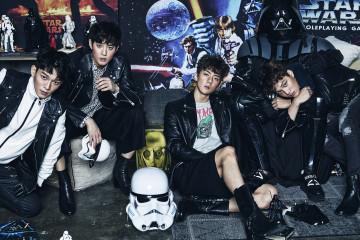 EXO 수호, 첸, 카이, 세훈  아시아 슈퍼 스타 엑소의 수호, 첸, 카이, 세훈이 의 카메라 앞에 섰다