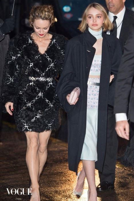 Arrivals at the Chanel Paris-Salzburg 2014/15 Metiers d'Art Collection show