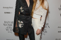 Harper's Bazaar Woman of the Year awards at Claridge's Ballroom in London