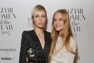 Harper's Bazaar Woman of the Year awards at Claridge's Ballroom in London