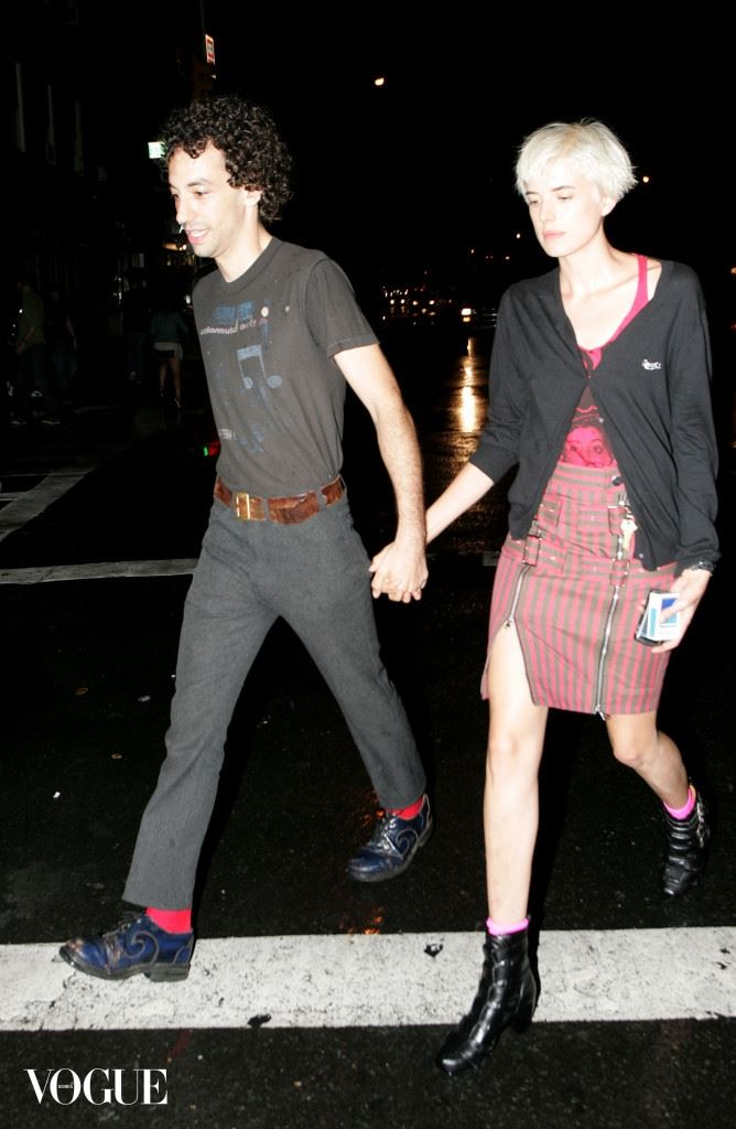 EXCLUSIVE: Agyness Deyn and Albert Hammond, Jr. out and about in New York City
