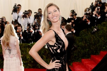 "NEW YORK, NY - MAY 05:  Model Gisele Bundchen attends the ""Charles James: Beyond Fashion"" Costume Institute Gala at the Metropolitan Museum of Art on May 5, 2014 in New York City.  (Photo by Dimitrios Kambouris/Getty Images)"