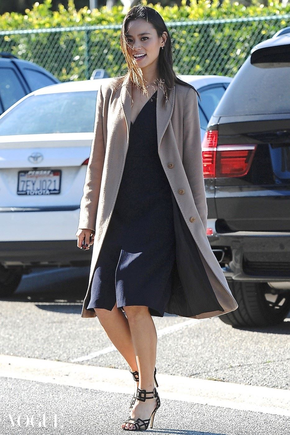 EXCLUSIVE: Jamie Chung is all smiles in Beverly Hills, CA