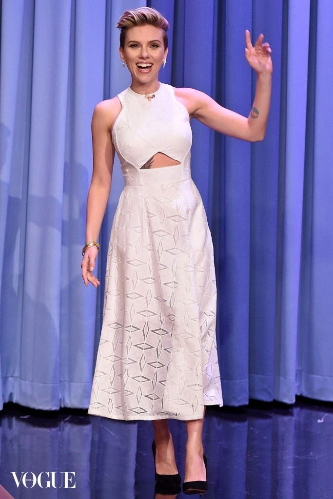 "Scarlett Johansson Visits ""The Tonight Show Starring Jimmy Fallon"""
