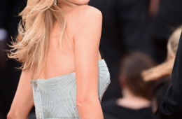"""CANNES, FRANCE - MAY 21:  Rosie Huntington-Whiteley attends """"The Search"""" premiere during the 67th Annual Cannes Film Festival on May 21, 2014 in Cannes, France.  (Photo by Ian Gavan/Getty Images)"""