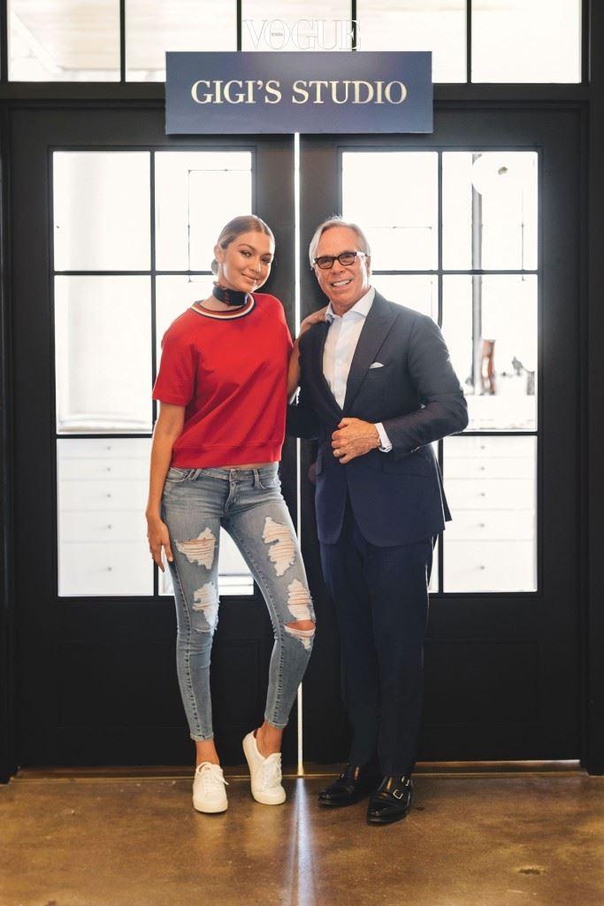 토미 힐피거의 브랜드 홍보대사로 임명된 지지 하디드! 2016 F/W 캠페인 모델은 물론, 토미 힐피거와 함께 캡슐 컬렉션을 선보입니다.