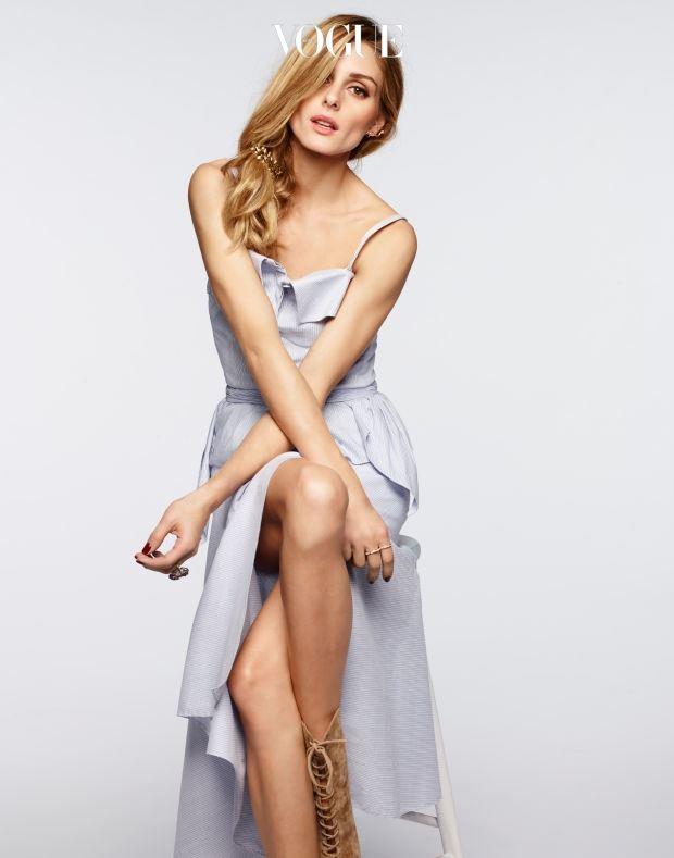 이번엔 노드스트롬 그룹에서 만든 패션 브랜드 첼시28과 함께 'Olivia Palermo + Chelsea28' 컬렉션을 준비했군요.