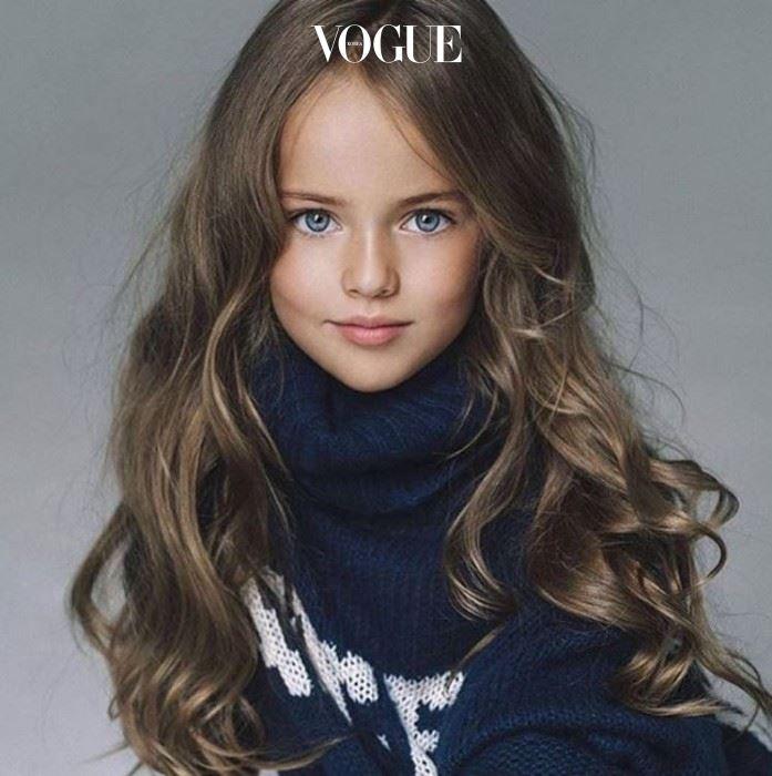 금발에 파란 눈, 오밀조밀 예쁜 이목구비. 10살 소녀의 미모가 이 정도라면 믿으시겠어요?