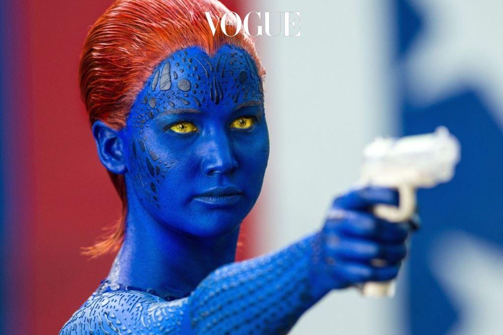 파란 몸의 섹시한 여주인공으로 등장한, 2011년작