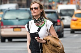 Diane Kruger is seen in New York City.  Pictured: Diane Kruger Ref: SPL1252081  240316   Picture by: Gardiner Anderson/Bauergriffin.com