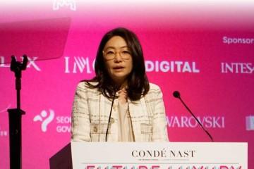 맥킨지 파트너인 에이미 김은 서울이 면세쇼핑의 중심이 된 이유에 대해 설명하며 서울에서 열린 CNI 럭셔리 컨퍼런스에 참석한 관객들을 사로잡았다.