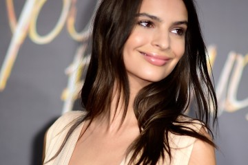 "HOLLYWOOD, CA - AUGUST 20:  Actress Emily Ratajkowski arrives at the Premiere Of Warner Bros. Pictures' ""We Are Your Friends"" at TCL Chinese Theatre on August 20, 2015 in Hollywood, California.  (Photo by Frazer Harrison/Getty Images)"