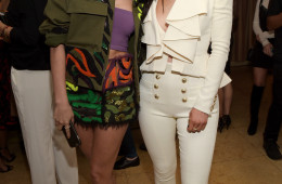 """LOS ANGELES, CALIFORNIA - APRIL 11:  Model Hailey Baldwin (L) and tv personality Kylie Jenner attend the """"Fresh Faces"""" party, hosted by Marie Claire, celebrating the May issue cover stars on April 11, 2016 in Los Angeles, California.  (Photo by Jason Kempin/Getty Images for Marie Claire)"""
