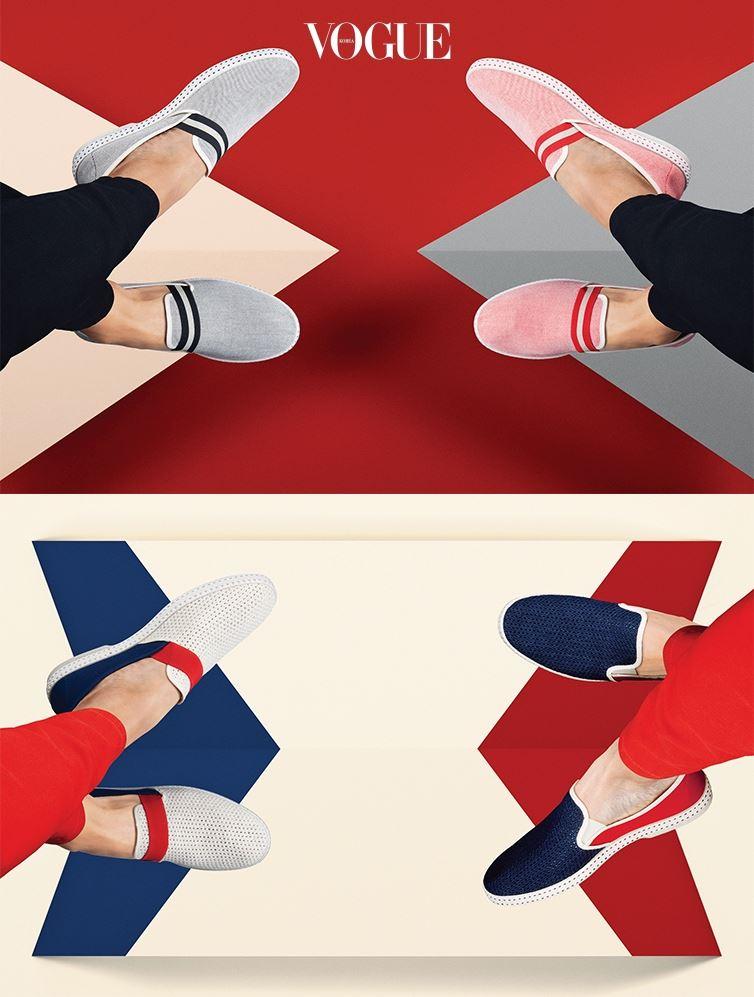"""파리와 생트로페에 이어, 지난해 한국에 도착한 이 경쾌한 신발은 점점 더 힘 있게 전진하고 있다. 6월 초엔 상하이의 조계지 근처에 단독 매장도 오픈했다. 오프닝 파티에서 만난 암잘라그는 자신의 신발을 이렇게 자랑했다. """"재미있지 않나요? 프랑스에서 탄생한 신발이 이곳 아시아까지 걸어왔으니까요. 또 열심히 걸어나가 전 세계에 리비에라스의 흥겨운 분위기를 전하고 싶습니다!"""""""